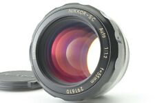 【N.MINT】Nikon Nikkor S.C Auto 55mm f/1.2 MF Lens Non Ai from Japan #382