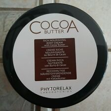 Phytorelax Cocoa Butter Rich Nourishing Body Cream 10.08 fl oz MADE IN ITALY
