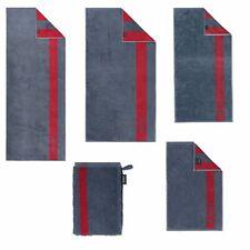 JOOP! Handtücher Infinity Doubleface Denim 1678 12 Duschtuch Handtuch Streifen