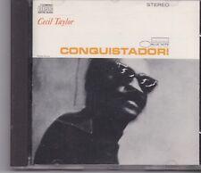 Cecil Taylor-Conquistador cd album