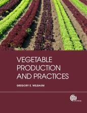 Vegetable Production and Practices, Agriculture, Business, Printed Books, Refere