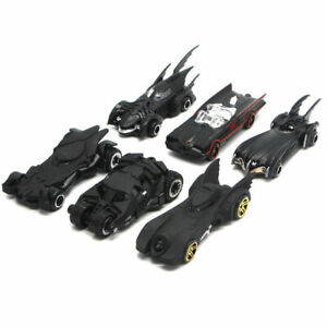 6Pcs Batman Batmobile Vehicle Alloy Diecast Car Model Toy Gift Collection