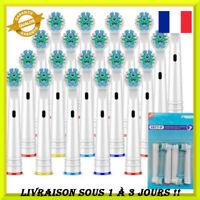 Tête de brosse à dents électrique de remplacement 4 pièces EB17-P brossette doux