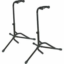 Musician's Gear Electric Acoustic and Bass Guitar Stands (2-pack)