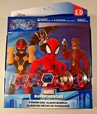Disney Infinity 2.0 Marvel Super Heroes Power Disc Album Bundle w/ 5 discs New