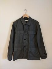 Margaret Howell Men's Black Military Jacket Size Small