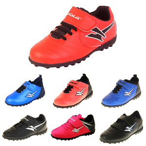 Boys GOLA Astro Turf Kids Sports Pitch Fitness Shoes Football Trainers Size 7-6