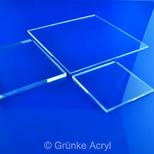 (316,99/M²) 25mm Grünke XT Acrylic Colourless Acrylglascheibe Cut Board