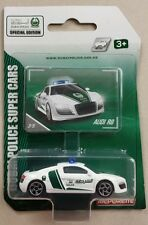 MAJORETTE Special Edition Super Cars Audi R8 Police Dubai N° 237D 1.64