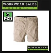 Khaki FXD Work Shorts Short Style Mens Workshorts WS-2
