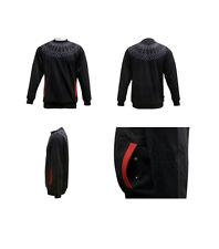 Hip Hop Sweat Shirt   Spirograph Crew Neck Urban Street wear Black 3XL