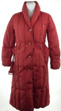 EDDIE BAUER GOOSE DOWN FILLED LONG PARKA JACKET COAT WOMENS SMALL PUFFER STYLE