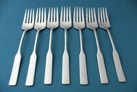 7 Salad Forks Oneida Deluxe MODERN ANTIQUE Stainless 6 5/8""