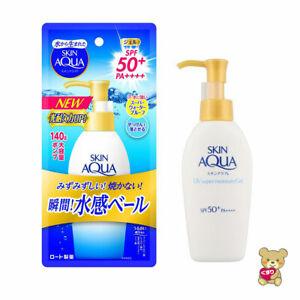 ☀2020 NEW Rohto Skin Aqua Sunscreen Super Moisture Gel Pump SPF50+/PA ++++ 140g