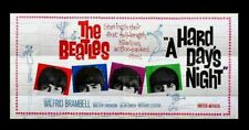 A HARD DAY'S NIGHT * CineMasterpieces 24SH HUGE BILLBOARD MOVIE POSTER BEATLES