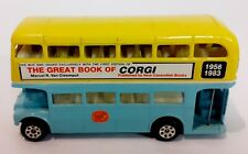 The Great Book of Corgi Limited Edition Routemaster Diecast Bus Rare VGC