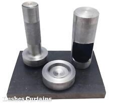 """Drapery Curtain Grommet Eyelet #12 Hand Setter & Hole Punch Tool Kit 1-9/16"""" Die"""