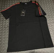 Men's Fendi T Shirt Black Size Small Bargain
