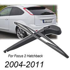 """For Ford Focus Mk 2 Hatchback (2004-2011) 350mm 14"""" Rear Wiper Arm Blade Kit"""