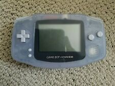 Nintendo Game Boy Advance Glacier Handheld System Console GBA Tested Working
