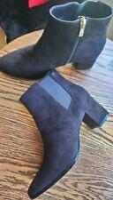 """Women's Calvin Klein Fiorella Ankle Boots, Size 9 (EU 39) Dark Brown, 2½"""" Heel"""