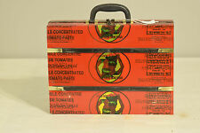 African Recycled Tin Tomato Can Briefcase Senegal Recycled Tin Can Briefcase