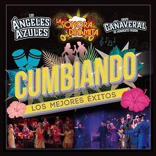 Cumbiando Los Mejores Exitos CD /  DVD NEW Angeles Azules Sonora y MAS !
