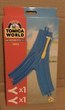 TOMY Train Trackmaster Tomica World - Y SHAPED POINTS RAIL -7490 BOXED 2 tracks