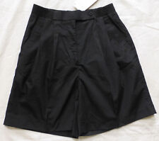VINTAGE Womens Tennis Golf Shorts by SPORT CASUALS, Black, Size 8, NWT