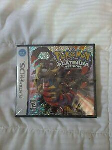 Pokémon Platinum Version (DS, 2009), SEALED Authentic 100%