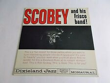 Bob Scobey & His Frisco Band Volume 1 LP 1961 Ragtime Signed Vinyl Record