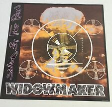 "TWISTED SISTER 12""X 12"" WIDOWMAKER POSTER for STAND BY FOR PAIN NM"