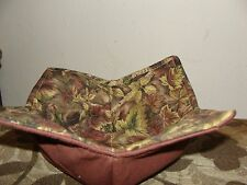 Microwave Bowl Holder Bowl Cozy Bowl Potholder Camo Brown Fun Bowl Cover