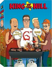 King of the Hill Complete 6th Sixth Season 6 Six DVD Set Series TV Show Animated