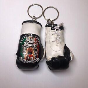 Julio César Chávez Reyes Del BOXEO Mini Boxing Glove Keychain WBC Boxing