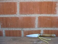 "Antique 2 1/2"" Blade Carbon Paring Knife with Beautiful Inlay"