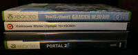 XBOX360–Lot Of 4 Games, Rated E, See Description For Titles