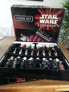 Star wars episode 1 Chess Set Incomplete (Please Read Description) collectable