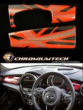 MINI Cooper/S/ONE RED Union Jack Dashboard Panel Trim Cover F55 F56 F57 LHD NEW