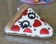 Betsey Johnson Say Cheese Pizza Slice Clutch Wristlet NWT