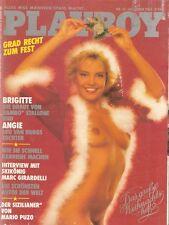 Playboy 12/85 Dezember 1985 Rambo Exfrau Reality Star Brigitte Nielsen Geburtsta