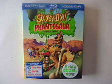 Scooby-Doo!: Legend of the Phantosaur (Blu-ray/DVD, 2011 2-Disc) NEW w/slipcover