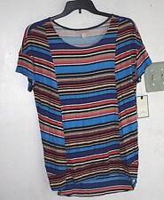 New Dana Buchanan Shirt Womens size XL Spandex Multicolored  Retail $40 -DDDD