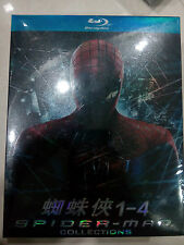 Spiderman Collector's Set (1~4) - Bluray, blu-ray, Spidey