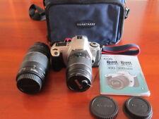 FOTOCAMERA REFLEX CANON EOS 300 REBEL 2000 OBIETTIVI 28/80mm & 75/300mm OTTIMA!