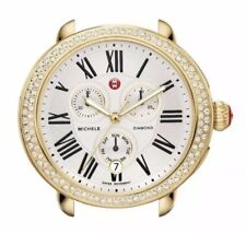 Michele Serein Diamond Gold Womens Watch Head MW21A01B0966