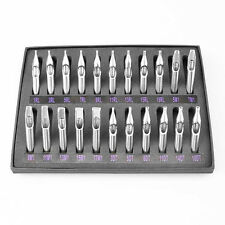 Stainless Steel Tattoo Nozzle Tips 22 Pcs 304 Needle Tube Kit for Tttoo Machine