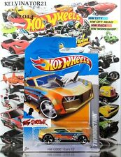 Hot Wheels 2012 #246 Twinduction™ GOLD,OH5SP,BLACK BASE,INTL