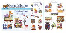Dakota Collectibles Embroidery Machine Design CD - Build-A-Train 970411