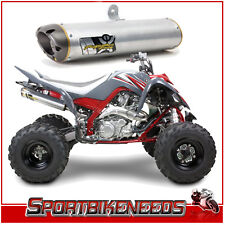 Two Brothers Yamaha Raptor 700 06-13 M-7 Aluminum Slip On Exhaust